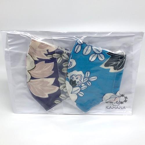 オリジナルマスク Aセット【夏の八重桜】