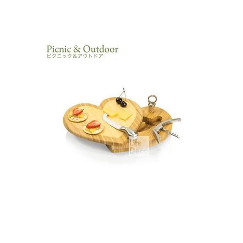 ピクニック チーズボードセット ハート Heart