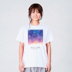 星空 Tシャツ メンズ レディース おしゃれ かわいい 白 夏 プレゼント 大きいサイズ 綿100% 160 S M L XL