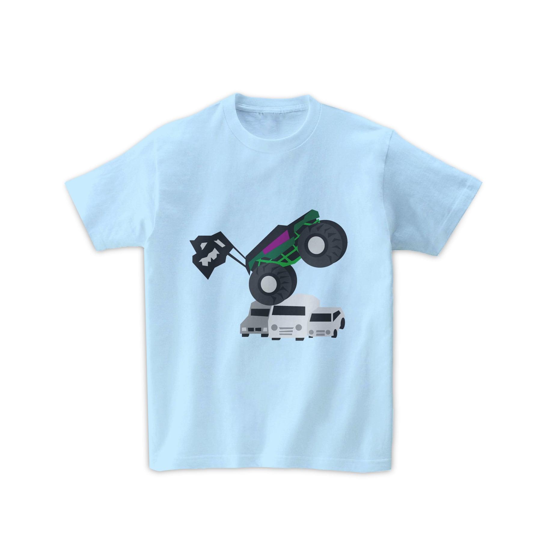 車Tシャツ-モンスタートラック