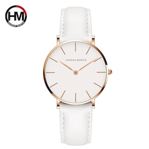 ジャパンクォーツムーブメントアナログファッションカジュアルウォッチナイロンストラップ腕時計ブランド女性用防水腕時計CB36-FB