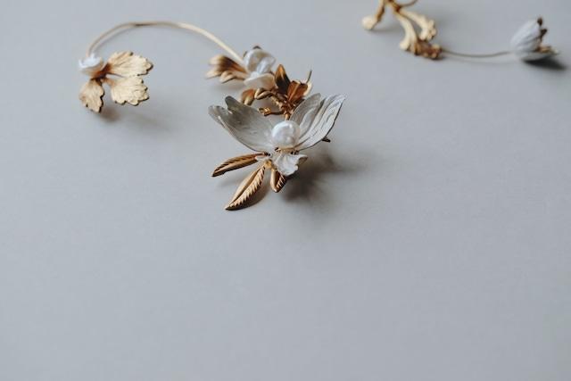 Bridal Earring・vintage・2009/sale