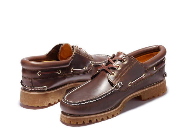 Timberland|Authentic Boat Shoe (Brown)