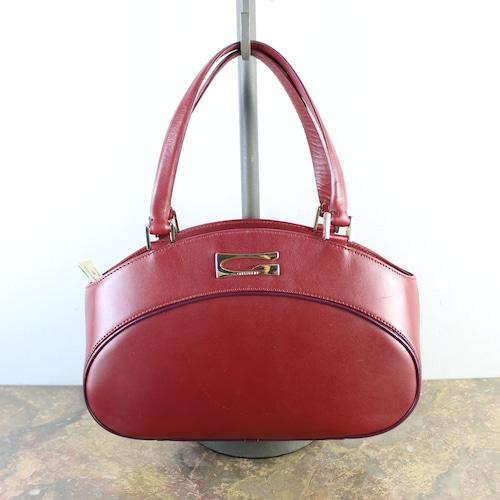 .GHERARDINI LOGO LEATHER HAND BAG MADE IN ITALY/ゲラルディーニロゴレザーハンドバッグ2000000056173