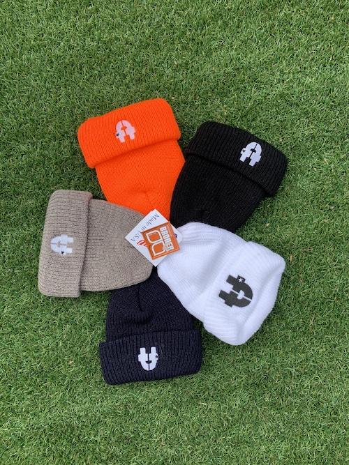 tt-Logo  Knit Cap Black/Orange/Gray/Navy/White/Brown