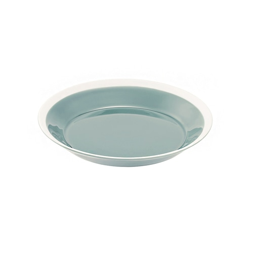 yumiko iihoshi porcelain(イイホシ ユミコ) Dishes プレート180 pistachio green
