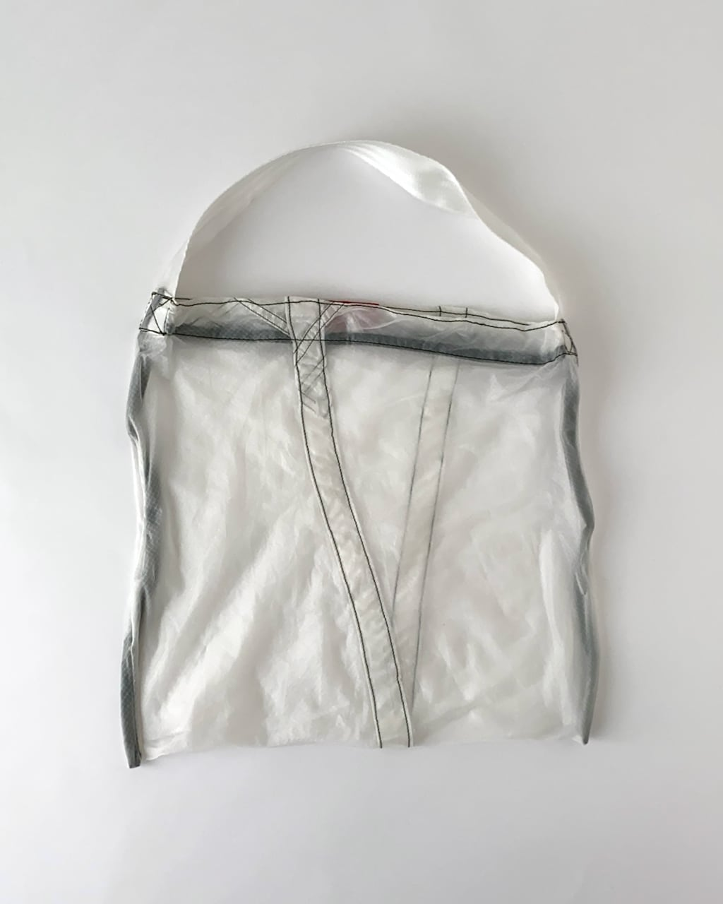 Vintage Parachute Light Bag White(PUEBCO)|ヴィンテージ パラシュートバッグ