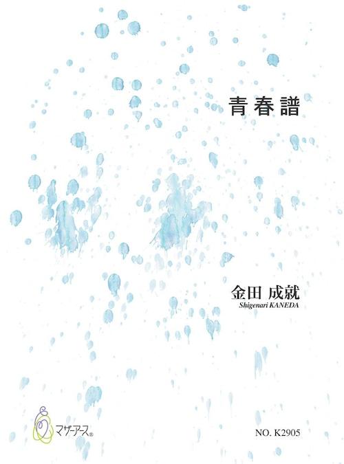 K2905 青春譜(歌曲集/金田成就/楽譜)