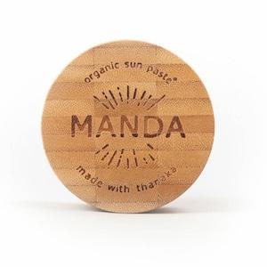 Manda Organic Sun Paste (SPF 50) - 40 grams マンダ 日焼け止め オーガニック