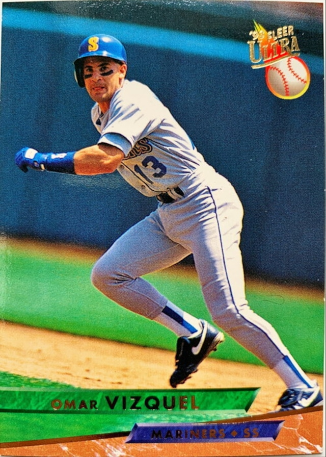 MLBカード 93FLEER Omar Vizquel #274 MARINERS