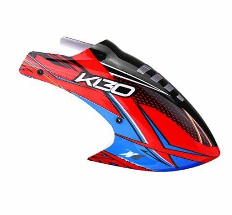◆K130 キャノピー K130.016(ネオヘリでK130機体ご購入者のみ購入可)