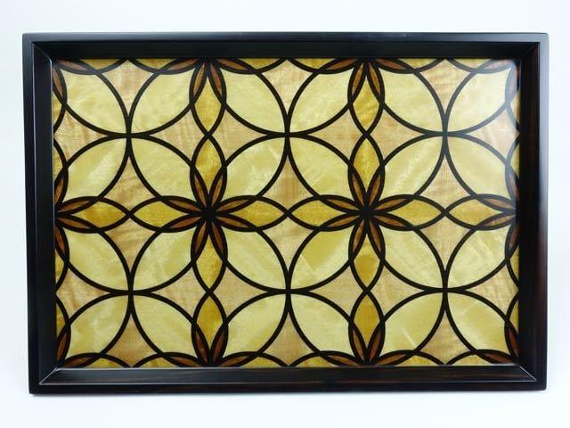 geometric inlay tray NBPZ-0139