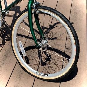 """20""""×1-1/8 (451-28c) 標準タイヤ&チューブセット/サイドスキン"""