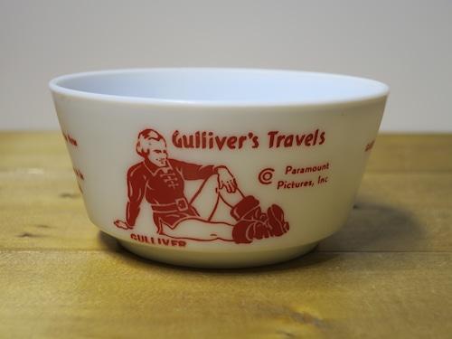 Hazel Atlas シリアルボウル Guliiver's Travels