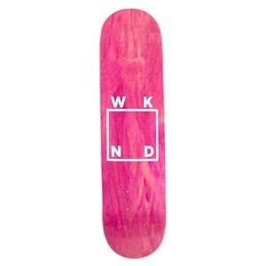 WKND / Logo / White / Assorted Veneers / 8.25x31.7inch (20.3x80.5cm)