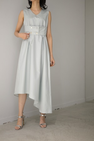 ROOM211 / Belt Dress (pale green)