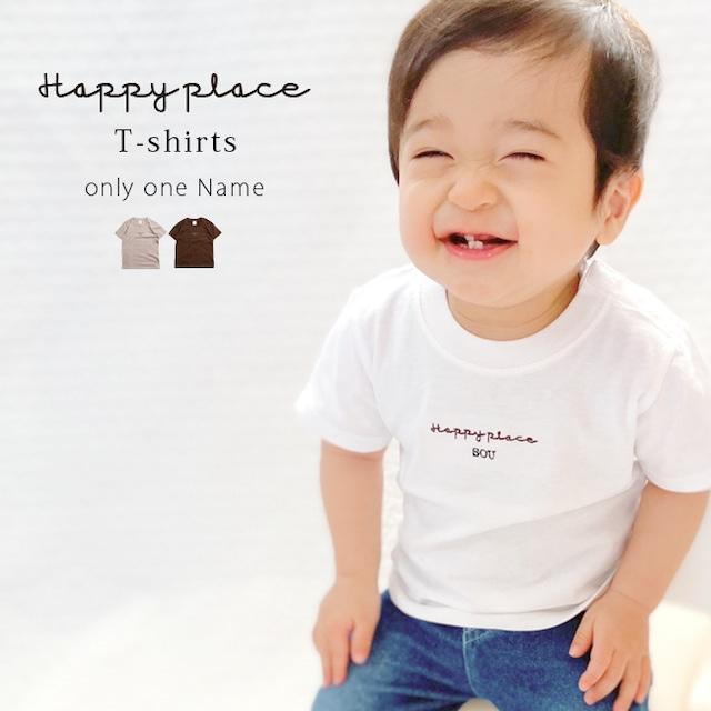 【名入れ】ORICLO オリクロ Happy place Tシャツ