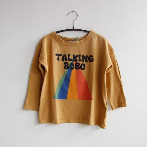 《BOBO CHOSES 2021AW》Talking Bobo Rainbow long sleeve T-shirt / 2-11Y