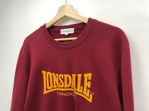 【ARCHIVE】【 LONSDALE × DUSTANDROCKS 】SWEAT SHIRT