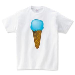 アイスクリーム Tシャツ メンズ レディース 半袖 大きいサイズ
