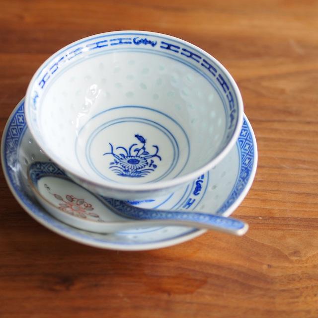 『茶碗11センチ/Blue&White』景徳鎮/ホタル