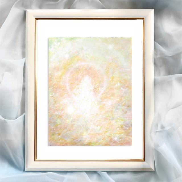 『慈愛』【神性】太子サイズ 額入 ヒーリングアート