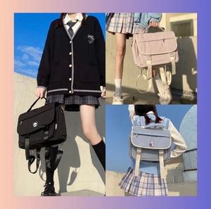 【即納】3WAY 学生風 バッグ 3色