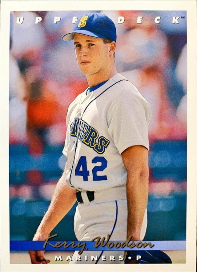 MLBカード 93UPPERDECK Kerry Woodson #388 MARINERS