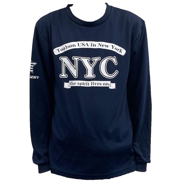 NYCロングTシャツ(ネイビー)【1ET1915】
