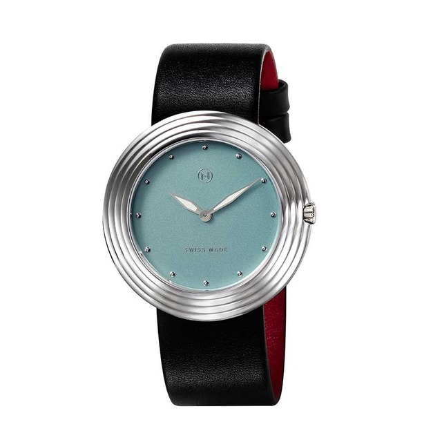 B003-01 Nove ストリームライナー スイス製 腕時計 Women  Black Blue