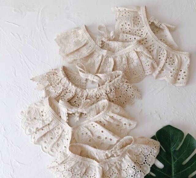 lace 付け襟