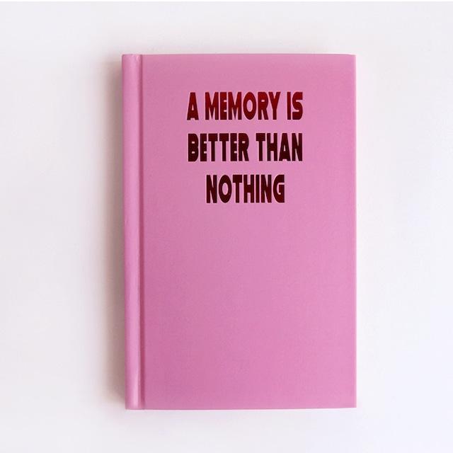 「MEMORY」ハードカバーノート