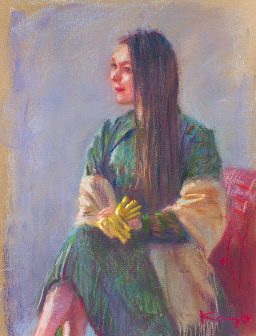 NO.139「黄色の手袋」