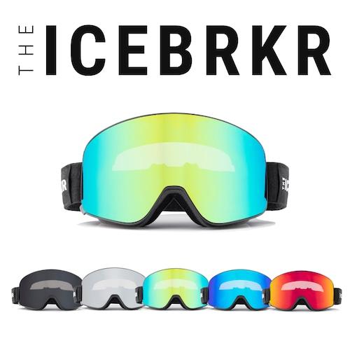 【数量限定セット】調光レンズ付き   ICEBRKR ASIAFIT   -骨伝導オーディオ&グループインカム機能搭載 ゴーグルー