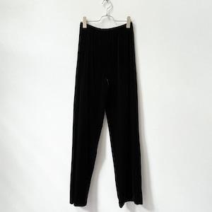 NINA PICCALINO 80〜90年代 ベロア イージーパンツ アメリカ古着 日本M