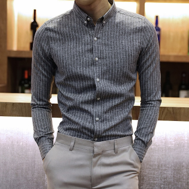 ビジネスシャツ ワイシャツ メンズ ドレスシャツ 長袖 Yシャツ インナー トップスtps-1796