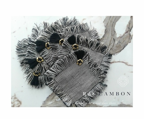 Coaster Rue Cambon 6pieces コースター ル・カンボン6点セット