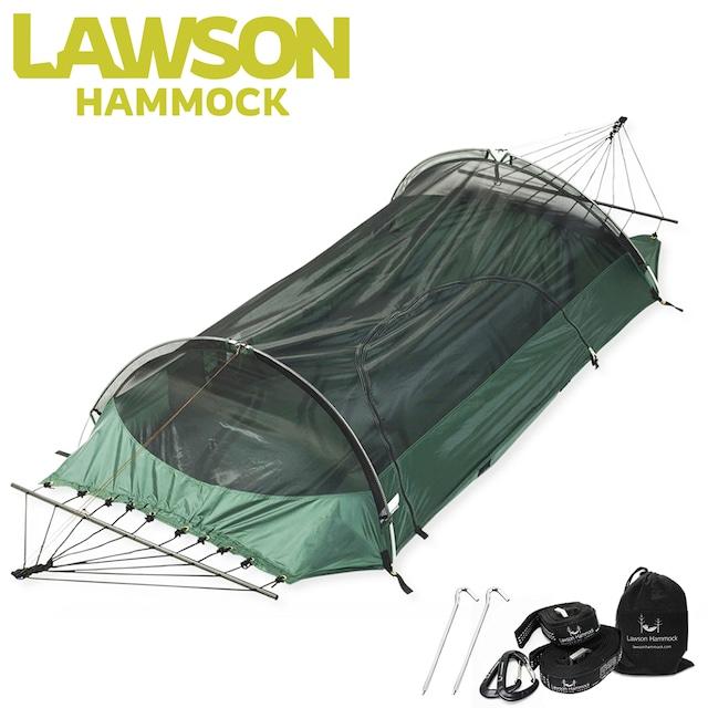 米海軍が使っているハンモックテント ブルー・リッジキャンピングハンモック【国内正規品】新モデル オールインワンハンモック ソロテント Lawson Hammock Blue Ridge Camping Hammock