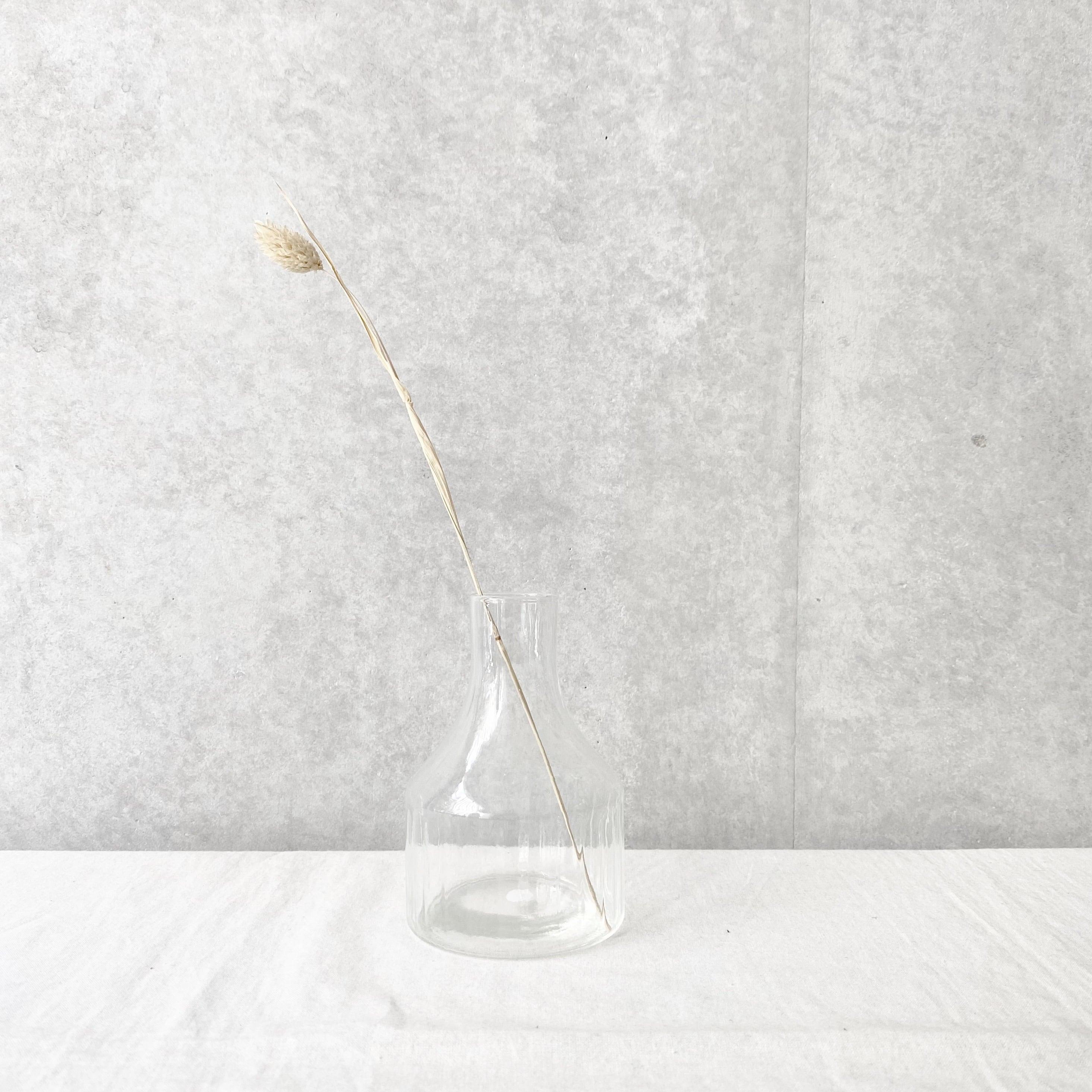 【リューズガラス】フラワーベース/ワイド