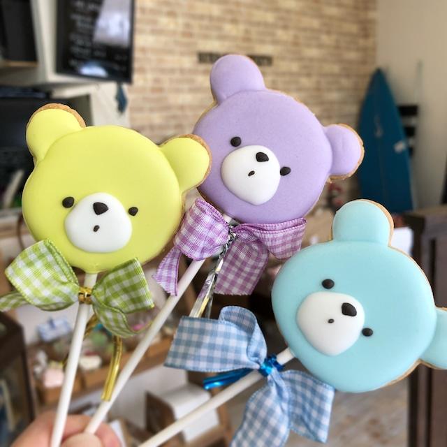 Baby Bear Pops - 10本から承ります