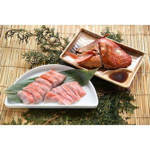 急速冷凍 地物金目鯛(三枚おろし)