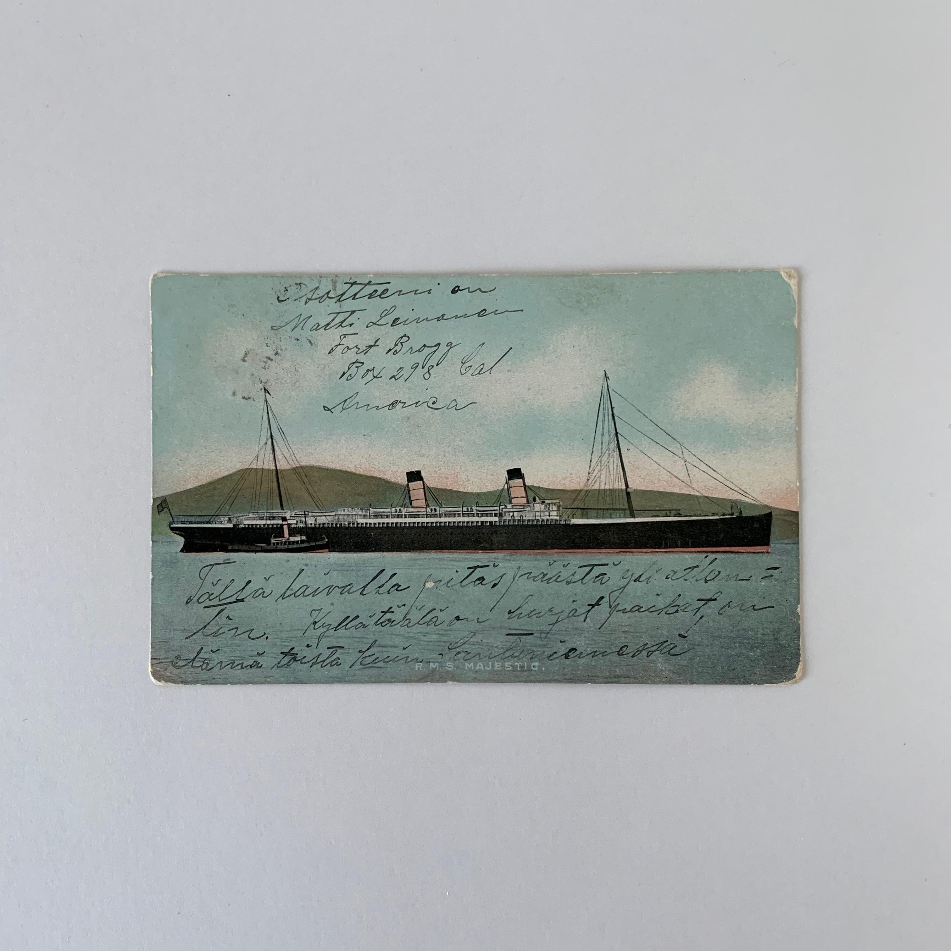 Antique Postcard No.029