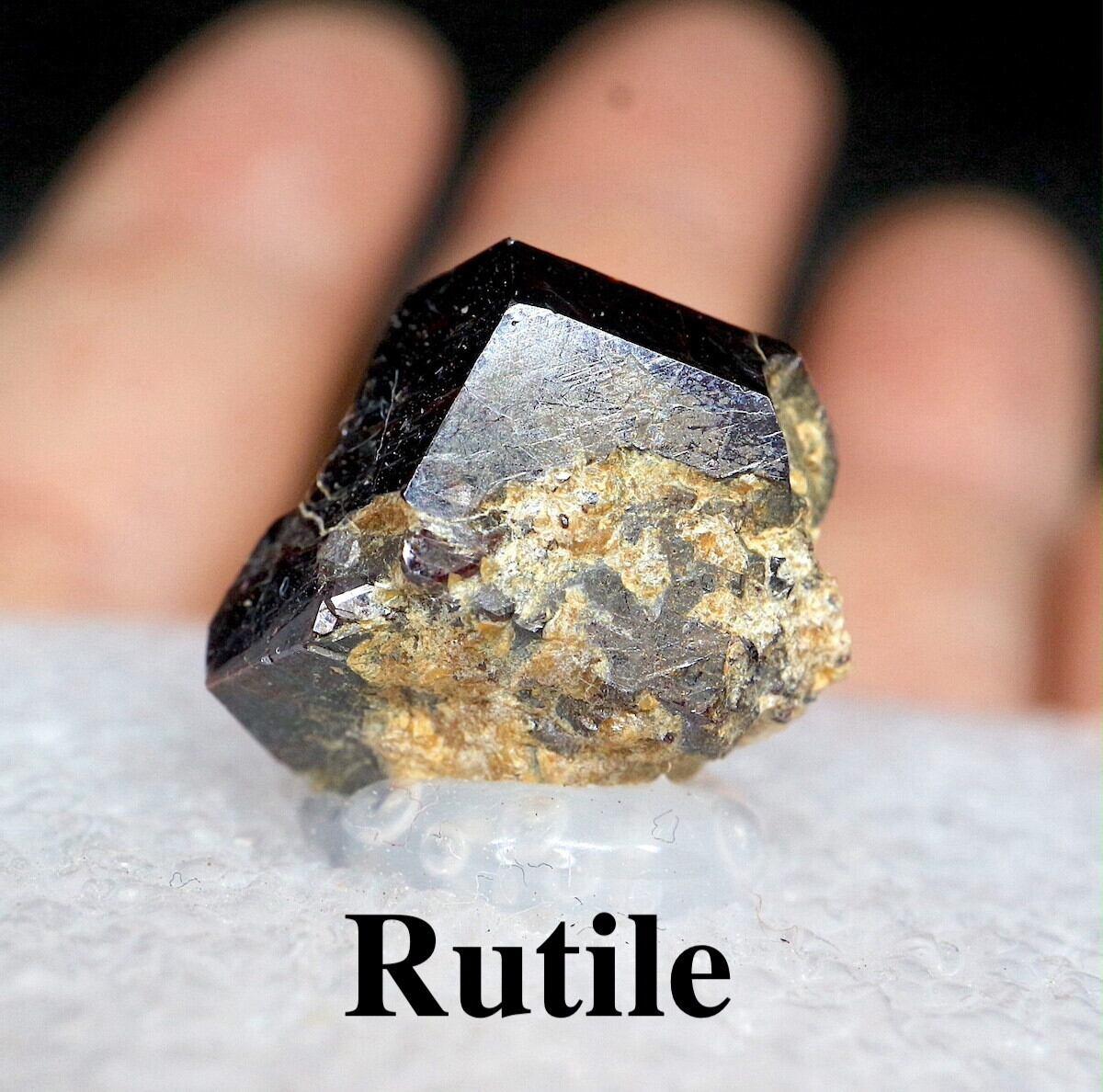 カリフォルニア産 ルチル 金紅石 原石 4,4g RUT007 鉱物 標本 原石 天然石