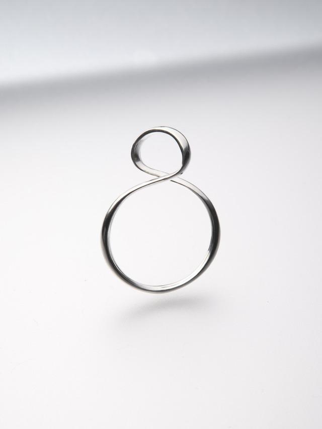 【silver925】silver ribon ring S(CAAC-R035)