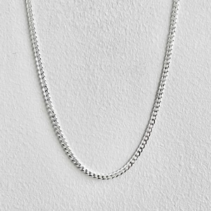 【SV1-44】16inch silver chain necklace