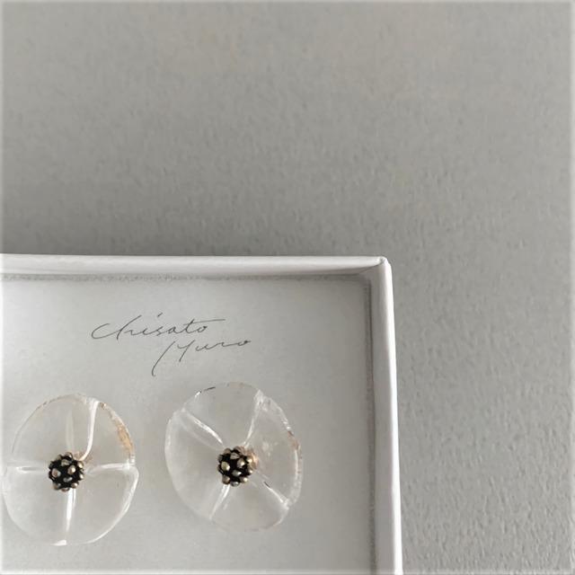 Chisato Muro  Glass Flower - Tsubu ピアス