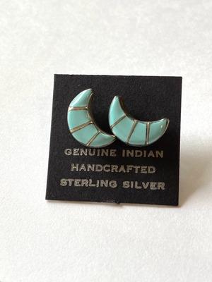 【Indian jewelry】ピアス~ライトムーン~