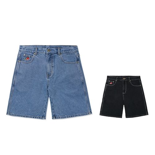 BUTTERGOODS|Apple Denim Shorts