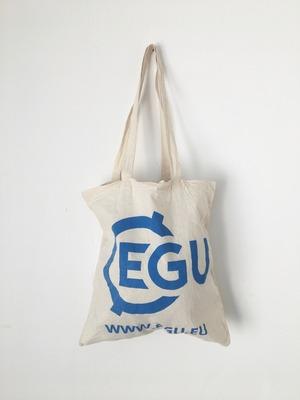 """ユーズドのトートバッグ「EGU」 Used Tote Bag """"EGU"""""""