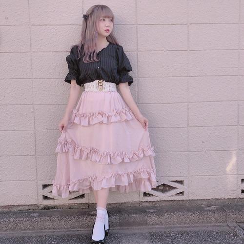【再販】Princess frill skirt